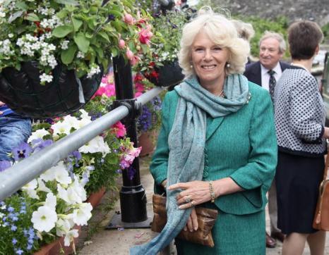 Камилла в  Корнуолле посетила  Брекон. Фоторепортаж. Фото: Chris Jackson - WPA Pool/Getty Images