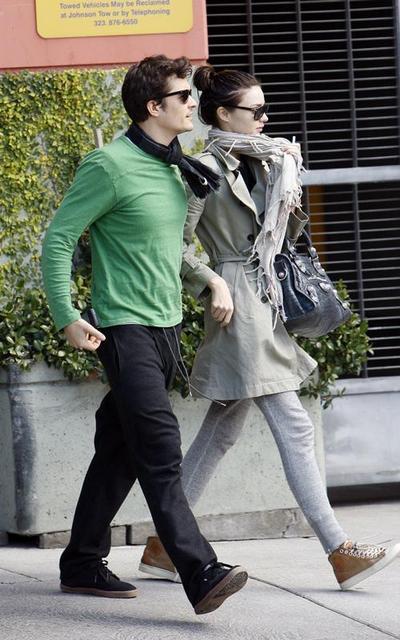 Орландо Блум и Миранда Керр в  2008 году. Фото с сайта: gossipcenter.com