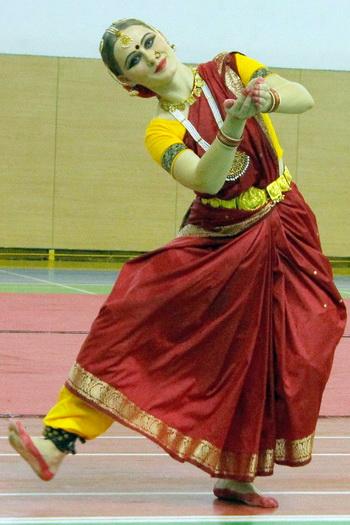 Индийский танец студии «Камала». Фото: Николай Карпов/Великая Эпоха (The Epoch Times)