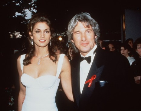 Синди Кроуфорд и Ричард Гир в 1993 году. Фото: Brenda Chase/Online USA, Inc., Getty Images