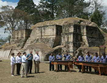 Пирамиды в Гватемале. Фото: MANDEL NGAN/AFP/Getty Images