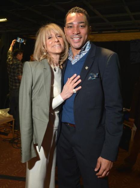 Джудит Лайт и Карл Браун на пресс-приёме в Нью-Йорке. Фото: Mike Coppola/Getty Images for Tony Awards Productions