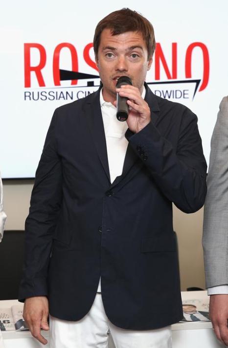Дмитрий Литвинов, генеральный директор ЗАО «Планета Информ», на открытии российского павильона 66-го Каннского фестиваля. Фото: Andreas Rentz/Getty Images