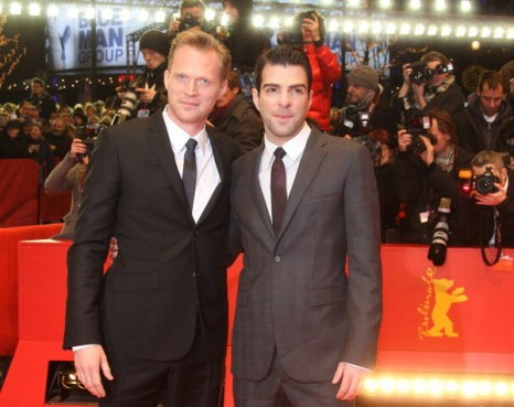 «Предел риска». Актеры Пол Беттани и Закари Куинто представили фильм «Предел риска» на международном кинофестивале в Берлине. Фото: VALERY HACHE/AFP/Getty Images