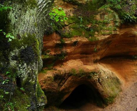 Сканяйскалнс — овитый легендами живописный край Латвии. Пещера дьявола. Эдите Класоне /Великая Эпоха (The Epoch Times)