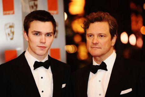 Николас Холт. Николас Холт и Колин Фёрт. 2010 год. Фото: Ian Gavan/Getty Images