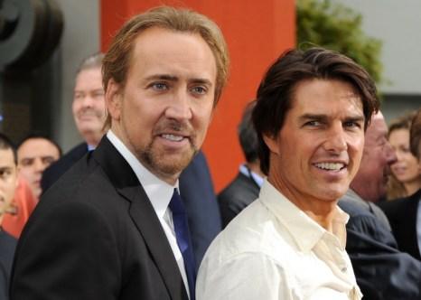 Николас Кейдж и Том Круз. 2010 год. Фото: Kevin Winter/Getty Images