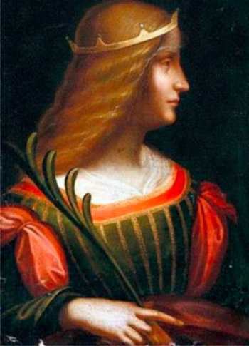 Портрет аристократки Изабеллы дЭсте. Фото: blick.ch