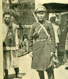 Бурят-казак в Мукдене во время русско-японской войны. Фото: buryat-mongolia.info