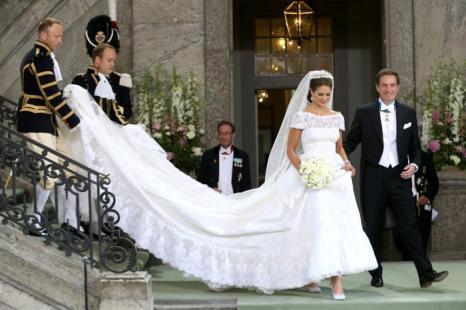 Принцесса Швеции Мадлен вышла замуж за американского бизнесмена Кристофера ОНила. Фото: Chris Jackson/Getty Images