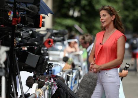 Репортёры сутками дежурят у больницы, где на днях герцогиня Кэтрин родит наследника британского престола. Фото: Chris Jackson/Getty Images