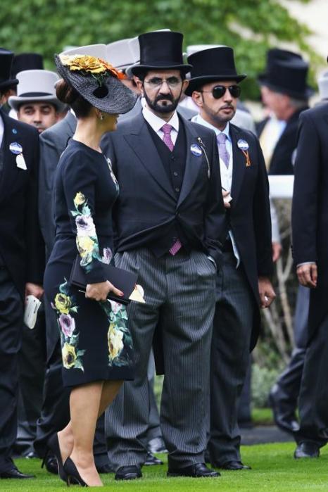 Шейх Мохаммед бин Рашид Аль-Мактум прибыл на скачки Royal Ascot. Фото: Chris Jackson/Getty Images for Ascot Racecourse