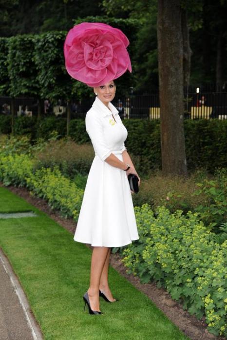 Изабелла Кристенсен прибыла на скачки Royal Ascot. Фото: Eamonn M. McCormack/Getty Images