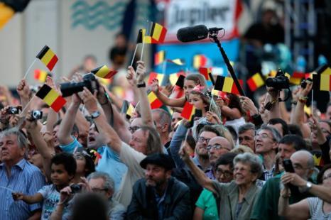 Праздник в честь отречения и коронации в Брюсселе (Бельгия) 20 июля 2013 года. Фото: Dean Mouhtaropoulos/Getty Images
