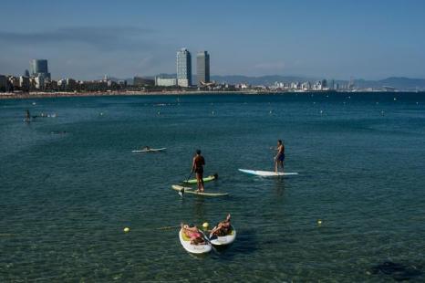 Пляжи Барселоны. 24 июля 2013 года. Фото: David Ramos/Getty Images