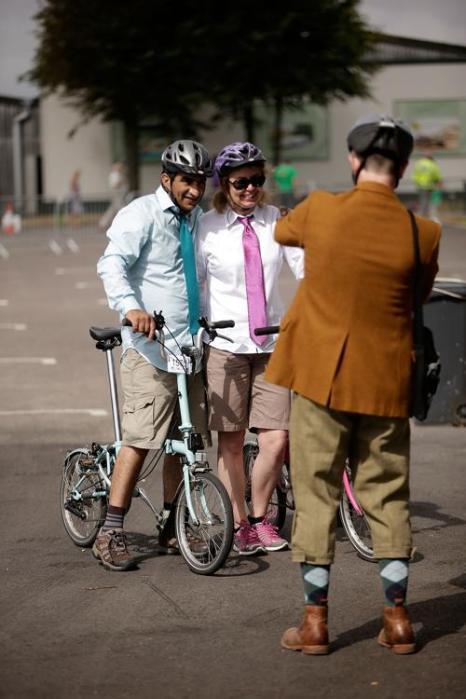 Чемпионат мира по гонкам на складных велосипедах прошёл на автодроме Goodwood Circuit в английском Чичестере 27-28 июля 2013 года. Фото: Matthew Lloyd/Getty Images