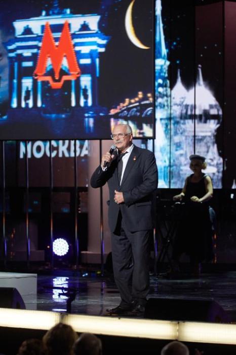 Никита Михалков на закрытии фестиваля ММКФ в Пушкинском. Фото: Oleg Nikishin/Getty Images for Artefact