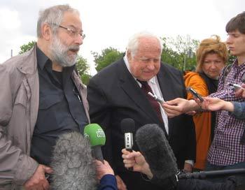 Александр Марголис и Аркадий Небольсин. Фото: Татьяна Серебрякова/Великая Эпоха