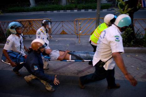 Тайланд. Обстановка огнеопасная. Фото: Paula Bronstein/Getty Images