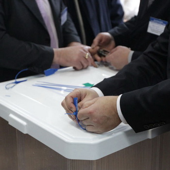 Урна для голосования. Фото РИА Новости