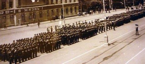Владикавказский институт готов к проведению парада. Фото из архива Гарри Феодорова