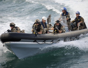 Европейский союз до конца 2014 года продолжит вести борьбу с пиратством в районе Африканского Рога. Фото: AXEL SCHMIDT/AFP/Getty Images