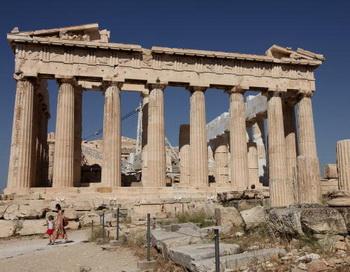 Греческая притча. Фото: Sean Gallup/Getty Images