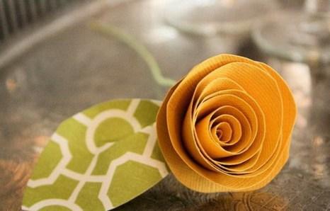 Давайте сделаем цветы из бумаги. Фото с сайта  ba-bamail