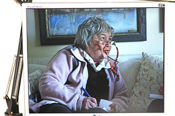 Рената Григорьевна дома. Снимок с экрана компьютера. Фото с сайта jerusalem-temple-today