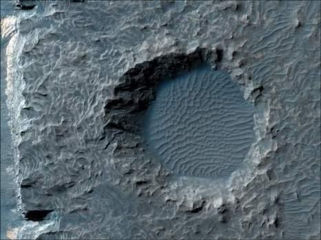 Марс. Аурем хаос. Фото: NASA/JPL/University of Arizona