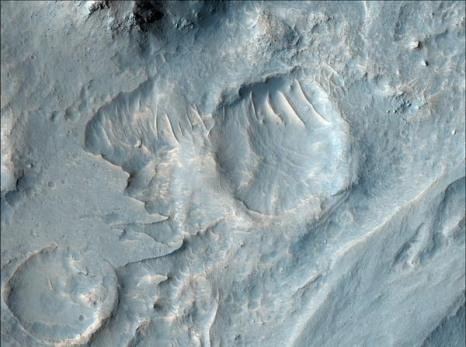 Марс. Кратер Гейла. Фото: NASA/JPL/University of Arizona