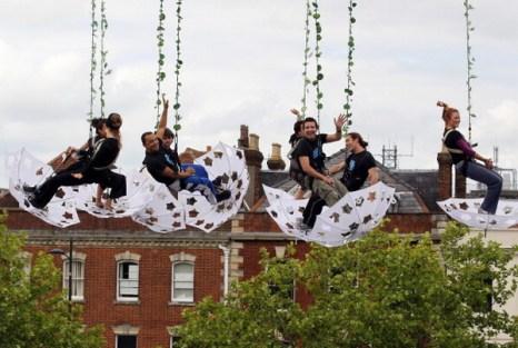 Фоторепортаж о Международном фестивале искусств Солбери в Великобритании. Фото: Matt Cardy/Getty Images