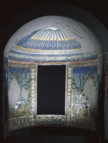 Изысканные украшения окружали фонтан, украшали банкетов, предлагаемые владельцами. Фото: Soprintendenza Speciale per i Beni Archeologici di Napoli e Pompei/Fotografica Foglia