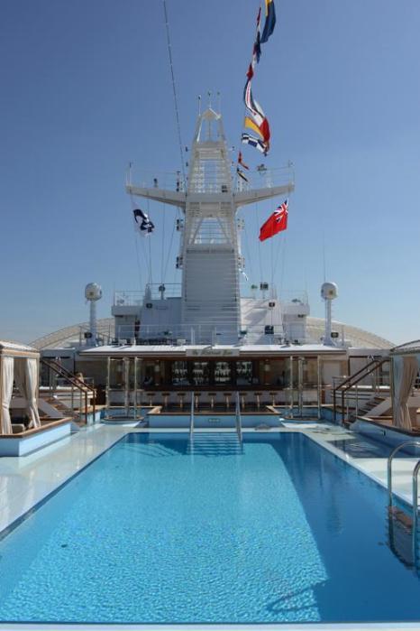 Круизный лайнер «Принцесса». Фото: Steve Dunlop/Royal Princess & Princess Cruises via Getty Images