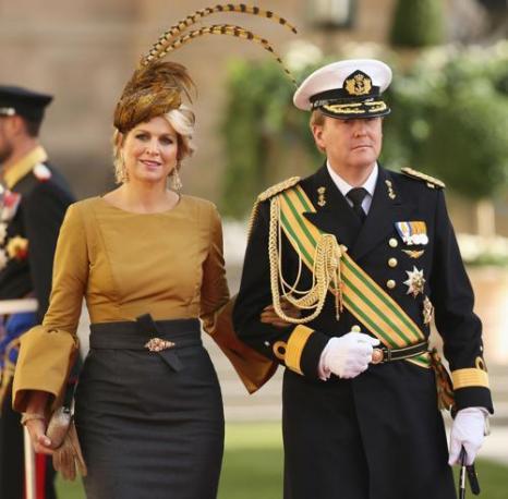 Принц Виллем-Александр с женой Максимой. Фото: Sean Gallup/Getty Images