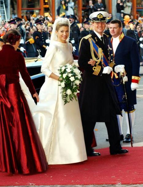 Свадьба принца Виллема-Александра с Максимой. Фото: Anthony Harvey/Getty Images