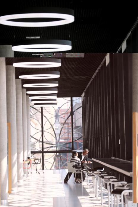 Последние подготовительные работы перед официальным открытием завершаются в новой библиотеке Бирмингема (Великобритания). Самая большая библиотека Европы в футуристическом здании на Площади Столетия откроет двери для публики 3 сентября 2013 года. Фото: Christopher Furlong/Getty Images