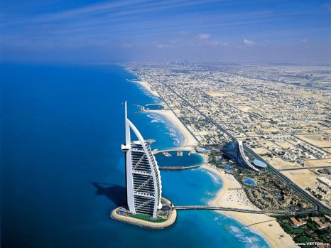 ОАЭ - Дубаи - панорама. Фото: fotoart.org.ua