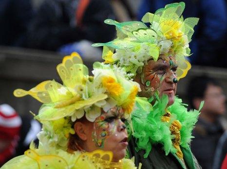 Карнавалы, проводимые в Мюнхене и Кёльне, известны по всему миру. Подготовка к ним начинается с незыблемой немецкой точностью ровно в 11 часов 11 минут 11 ноября. Карнавал здесь чуть ли не официально считают пятым временем года. Фото: Dennis Grombkowski/Getty Images
