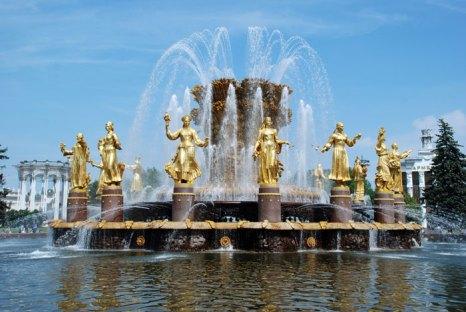 фонтан «Дружбы народов» на ВВЦ. Фото: Юлия Цигун/Великая Эпоха (The Epoch Times)