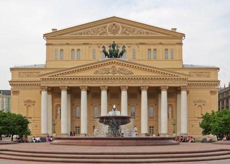 Москва. Большой театр после реставрации 2005-2011 гг. Фото: A.Savin/Commons.wikimedia.org