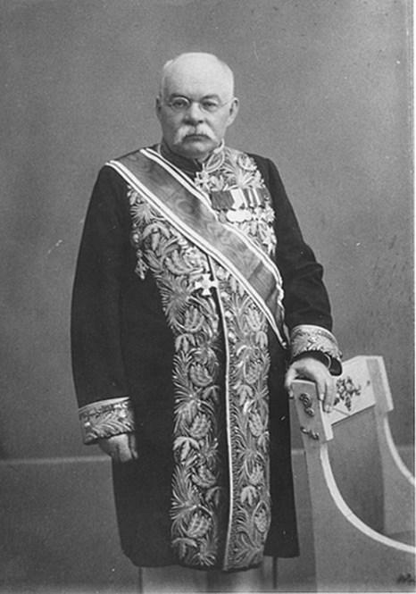 Иван Владимирович Цветаев — основатель музея. Фото: Karl Andreyevich Fischer/commons.wikimedia.org