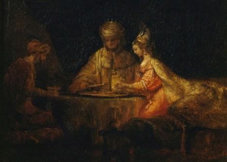 Артаксеркс, Аман и Эсфирь. Фото: commons.wikimedia.org