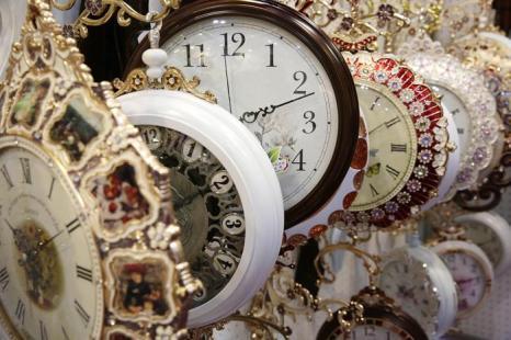 Вторая в мире по величине выставка часов открылась в Гонконге 4 сентября 2013 года и продлится 5 дней. Фото: Jessica Hromas/Getty Images