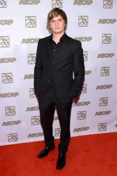 Певец Леви Хьюман на 51-й церемонии награждения лучших исполнителей музыки кантри премией ASCAP в Нэшвилле 4 ноября 2013 года. Фото: Michael Loccisano / Getty Images