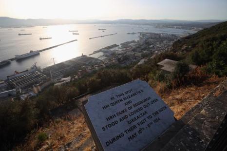 Гибралтар — спорный британский остров, суверенитет на которым отстаивает Испания. 6 августа 20132 года. Фото: Oli Scarff/Getty Images