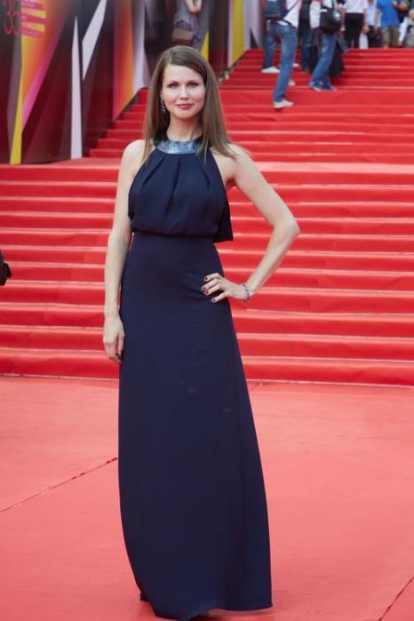 Наталья Лесниковская посетила закрытие кинофестиваля в Москве 29 июня 2013 года. Фото: Oleg Nikishin/Getty Images for Artefact