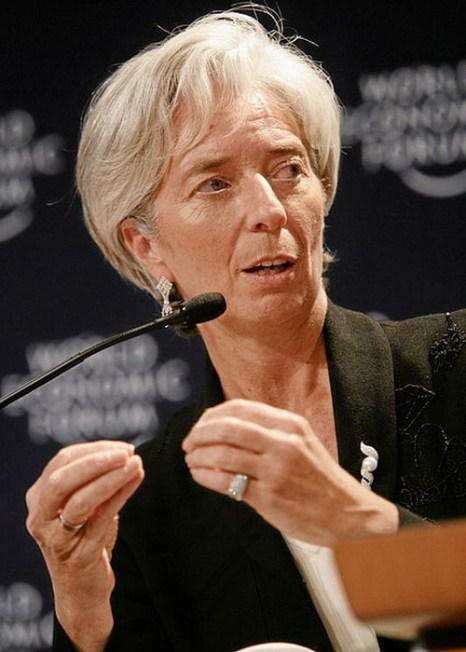 Глава МВФ Кристин Лагард. Фото: Remy Steinegger/flickr.com