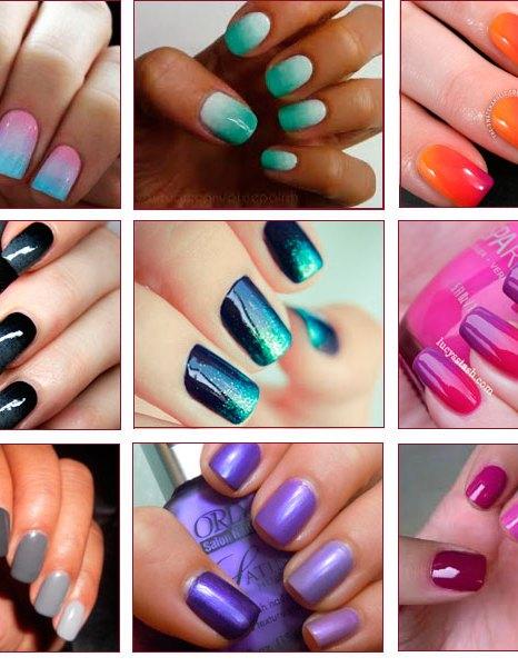 модные ногти, Маникюр в стиле caviar