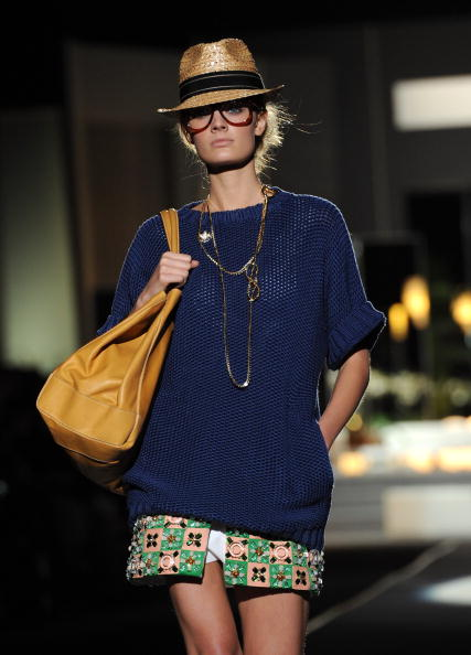 Коллекция DSquared 2 весна-лето 2011 на Недели моды в Милане. Фото:Tullio M. Puglia/Getty Images